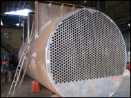 Heat Exchanger Of 1200M Area